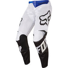 FOX 2017 Mens Adult 180 Airline Race Pants White Off-Road/MX/ATV/Moto/Motorcycle