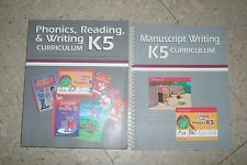 ABeka K5 Kindergarten Phonics Reading & Writing Curriculum+Manuscript Lesson Pla