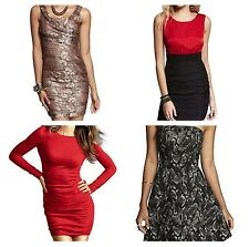 NEW Express Women's Lace Dress Casual Party: XS, S, M, L (0,2,4,6,8) - U CHOOSE