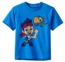 NWT Disney's Jake & the Never Land Pirates Jake & Skully Tee Toddler 2T, 3T, 4T