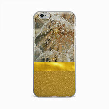 Gold Geometric Drop Hard Case Cover For Apple iPhone 4 4S 5 5S 5c SE 6 6S 7 Plus