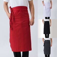 Chef Cooking Aprons Restaurant Waiter Butcher Apron Half Waist Kitchen Supplies