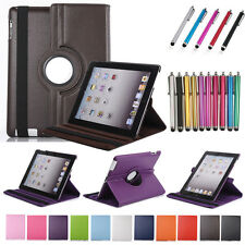 Rotating Smart Leather Cover Case For Apple iPad 5 6 Air 2 3 4 Mini Stand Flip