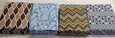 4PC WATERBED SHEET SET - Print Double Brushed Microfiber - FREE POLE ATTACHMENT