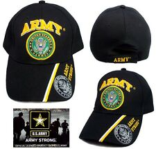 US Army Strong Military Licensed Baseball Caps Embroidered  ( 7507A8E ^)