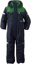 Didriksons Ridne Kids All-in-One Ski Suit, Navy