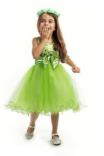 Sequined Flower Girl Dress Wedding Graduation Holiday Pageant Birthday Party