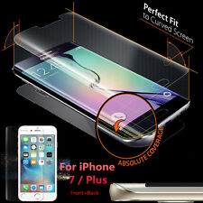 Front + Rear Full Cover Explosion-proof TPU Screen Protector For iPhone 7 / Plus