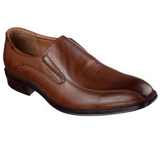 Skechers Men's Rollins Slip On Dress Casual Loafer Shoes Cognac 68908