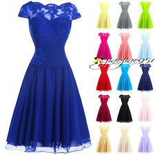 2016 Stock Short Bridesmaid Dresses Party Prom Evening Homecoming Ball Gown 6-18