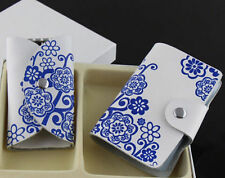 Box Hot Creative Holder Leather Business Card Case Gift ID Credit Card