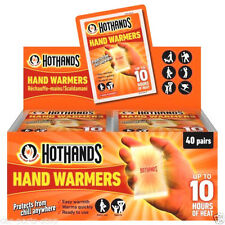 Hothands Hand Warmer Foot Warmer Disposable Pocket Glove in 1 3 5 10 20 40 pack