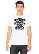being a supervisor copy Tshirt | being a supervisor copy tank top | be