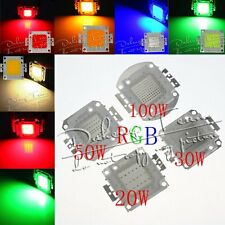 LED Chips 10W 20W 30W 50W 100W SMD High Power LED Lamp Bulb Bead For Flood Light