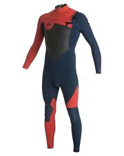 NEW QUIKSILVER™  Mens AG47 Performance 2/2MM Chest Zip Steamer Wetsuit 2015 Surf