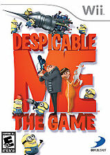Despicable Me: The Game (Nintendo Wii, 2010) Complete