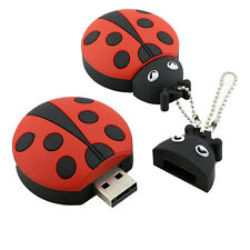 Beetles USB Flash Drive 8G 16G 32G Cute ladybug Pen Drive USB Memoria stick Lot