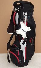 Titleist Golf Lightweight Carry Bag Black-Red-White