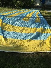 "Spinnaker Sail Fabric Excellent Condition Luff 35'4' Leech 32'6"""" Foot 18'6"""