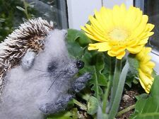 ~ * Sweet needlefelted HEDGEHOG  * ~ one of a kind