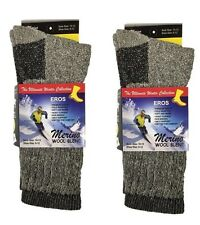 2 Pair EROS Mens Smart Thermal WOOL Warm Heavy Thick  Boots Socks 10~13