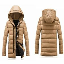 Slim Winter Men Coat New Outwear Down Parka Hooded Jacket Warm Thicken Padded