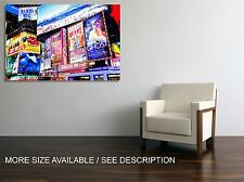 Canvas Print Picture New York Broadway Shows / Stretched   ready to hang