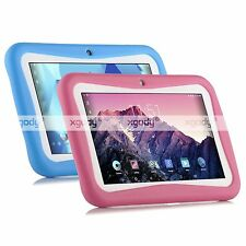 XGODY 7'' Inch Google Android 5.1 Kids' Tablet PC 8GB Dual Cam Wifi Bundle Case