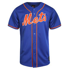 Majestic MLB New York Mets Men's Replica Jersey Royal