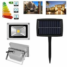 10W Solar Power LED Flood Light Spotlight LED Outdoor Garden Security Night Lamp