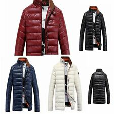 Vogue Men Jacket New WInter Warm Coat Outdoor Parka Down Cotton Outwear Padded