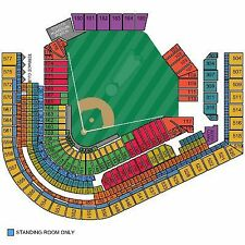 2 Tickets Cleveland Indians ALDS TICKETS HOME PLAYOFF GAME 2 (SEC 561 ROW M)