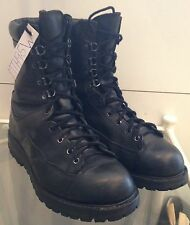 Black Matterhorn 10 Eyelet Gore-Tex Lined Army Issue Boot Size 9.5W MTH9.5W