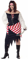 RUBY THE PIRATE BEAUTY CALIFORNIA HALLOWEEN COSTUME ADULT PLUS SIZE WOMENS CUTE