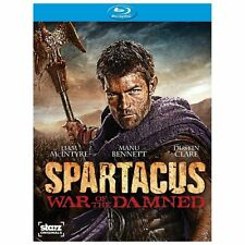 Spartacus War of the Damned Season 3 Blu-Ray
