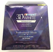 Crest 3D White Whitestrips LUXE Professional Effects 40 strips