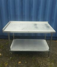 Stainless steel table commercial catering kitchen equipment