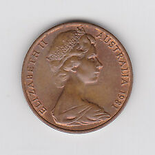 1981 AUSTRALIAN 2 TWO CENT COIN