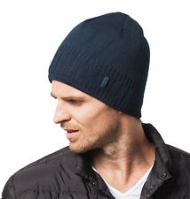 Mens Winter Hats Outdoor Knitted Cap Wool Thick Warm Velvet Hats for Men