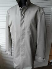 NEW MENS MANS GENTS 100% COTTON CLASSIC RAINCOAT TRENCH COAT MAC