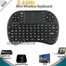 Mini Wireless Keyboard 2.4G with Touchpad Handheld Keyboard for PC Android TV SY
