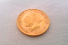 Stunning 22ct Gold George V Full Sovereign 1911 Extremely Fine