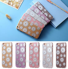 Full Body Glitter Bling Flower Hybrid Protector Case Cover Skin For iPhone 6 6s+