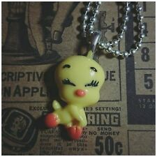 TWEETY BIRD Pendent NECKLACE Kitsch Fairy Tale Silver Ball Chain Handmade New
