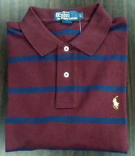 NWT Ralph Lauren Men's Polo Shirt Burgundy Color