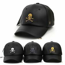 Baseball Cap Skull Swag Ball cap Vintage Casual Golf Curved Hat Trucker Golf Cap