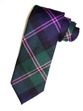 NEW BROOKS BROTHERS NAVY GREEN PLAID MAKERS WOOL  NECK TIE