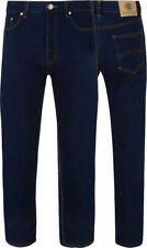 Mens Big size Jeans Plus Size Stretch Denim Jeans Relaxed Fit Regular Fit
