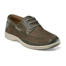 Florsheim Mens Brown Lakeside Ox Leather Casual Oxfords Comfort Trending Shoe