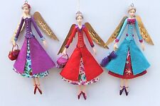 GISELA GRAHAM CHRISTMAS ANGELIC FASHIONS  FAIRY WITH COAT DECORATION ANGEL